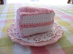 Lots of free patterns for play food - crochet and felt.