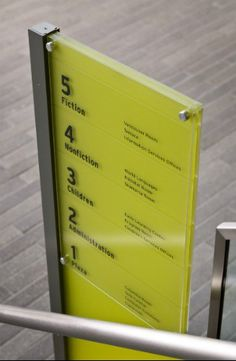 Vancouver library   |   #librarywayfinding #wayfinding