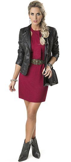 O vestido linha A é confortável e deixa qualquer produção mais elegante!