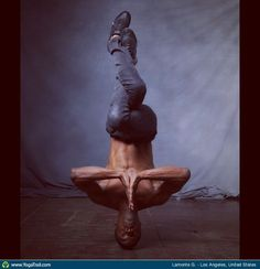#YogaDudes for #Movember: Lamonte G. in Los Angeles, United States