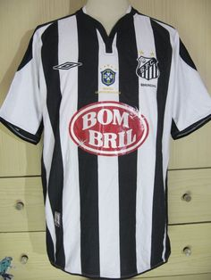 Santos Player Issue Diego 2002 Home Brazil Football Shirt Soccer Jersey M | eBay