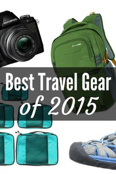 My favorite travel gear, from bags to cameras.