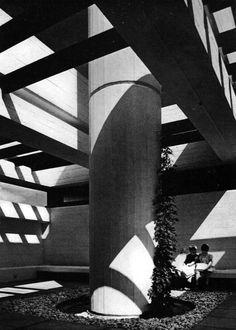 FUCK YEAH BRUTALISM    Klöcker House, Rodenkirchen, Germany, 1965-67  (Joachim Schürmann)