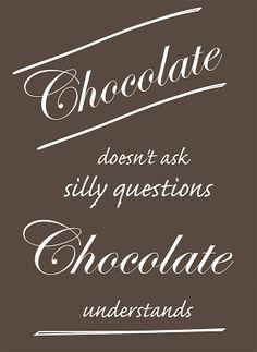 free funny saying printable for chocolate lovers Wall Quotes, Love Quotes, Funny Quotes, Wall Sayings, Chocolate Lovers, Chocolate Quotes, Chocolate Chocolate, Printable Planner Stickers, Printables