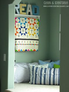 DIY:: Reading Nook Tutorial - secluded reading nook at the end of the long hall Closet Transformation, Reading Nook Kids, Long Hall, Hall Closet, Cute Quilts, Classroom Setup, Boy Room, Kids Playing, Room Inspiration