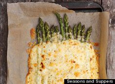 Asparagus is one of those spring treasures that we patiently wait for all year long. Once it's finally in season, we treat it simply wanting to let the fresh flavor of this vegetable shine through.