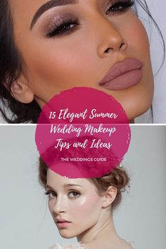 Elegant Summer Wedding Makeup Tips and Ideas #summermakeupideas Summer Wedding Makeup, Wedding Makeup Tips, Summer Makeup, Makeup Inspiration, Elegant, Beautiful, Make Up, Classy, Chic