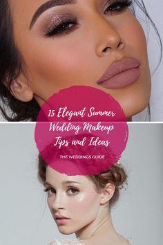 Elegant Summer Wedding Makeup Tips and Ideas #summermakeupideas Summer Wedding Makeup, Wedding Makeup Tips, Summer Makeup, Wedding Looks, Wedding Make Up, Wedding Ideas, Makeup Inspiration, Makeup Ideas, Makeup Books