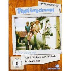 Pippi Langstrumpf  - TV-Serien-Box  (5 DVDs)