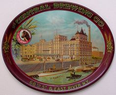 June 1st Auction Henry Weinhard City Brewery Serving Tray