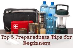 Prepping for Beginners - Top 5 Tips