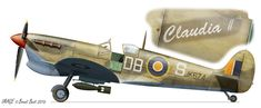 Privately run, unofficial website on the South African Air Force. All suggestions are welcome - Dean Wingrin South African Air Force, Supermarine Spitfire, Aviation Art, Military Aircraft, World War Ii, Ww2, Fighter Jets, Military Equipment, Cutaway