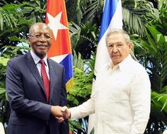 Raul Receives Prime Minister of Lesotho - Radio Cadena Agramonte