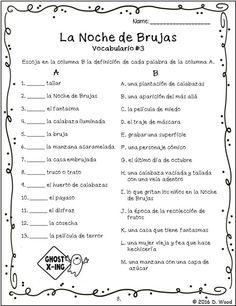 Printables Bilingual Worksheets english the ojays and reading on pinterest bilingual spanish celebration of halloween it includes a total of
