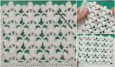 Nazarca-yelek-sal-lilyum-tig-isi-yapilisi Crochet Baby Clothes, Baby Knitting Patterns, Crochet Stitches, Diy And Crafts, Blanket, How To Make, Handmade, Accessories, Crochet Batwing Tops