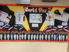 Ww2 display World War 2 Display, Ww2, Year 6, Classroom, Art Things, Board Ideas, Sirens, Teaching Ideas, School Ideas