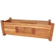 Garden Troughs, Trough Planters, Wooden Garden Planters, Outdoor Planters, Elevated Planter Box, Planter Boxes, Raised Garden Beds, Raised Beds, Esschert Design
