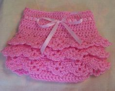 free shell pattern crochet diaper cover - Google Search