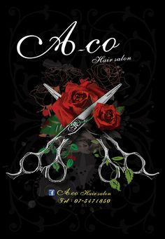 A-co hair salon. Salons, Graphic Design, Poster, Hair, Lounges, Posters, Billboard, Visual Communication
