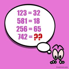 Brain teaser - Number And Math Puzzle - Number puzzle with a bug again - The well known bug is here once more. It is asking you for a number which is the result (provided there is a pattern in the equations).