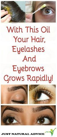 With This Oil Your Hair, Eyelashes And Eyebrows Grows Rapidly! – health and beauty lifestyle With This Oil Your Hair, Eyelashes And Eyebrows Grows Rapidly! With This Oil Your Hair, Eyelashes And Eyebrows Grows Rapidly! Healthy Beauty, Healthy Hair, Health And Beauty, Natural Beauty Tips, Natural Hair Styles, Beauty Secrets, Beauty Hacks, Beauty Care, Beauty Guide