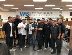 A huge congrats to Javi for getting his license today! Have is one of our bright Spanish class students who does color womans cuts blow drys etc etc etc. He is a all around barber and his fades are tight! Congrats Javi we cant wait to see what you do in life :)