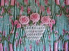 Herringbone stitch tutorial by Claire Meldrum.
