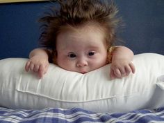 17 gorgeous Down Syndrome babies - so cute! Cute Little Baby, Baby Kind, Little Babies, Baby Love, Precious Children, Beautiful Children, Beautiful Babies, Funny Baby Pictures, Baby Photos