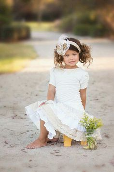 This would make such a beautiful baptism dress one day. Definitely wanna try making these for the triplets!