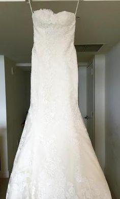 Pronovias Princia: buy this dress for a fraction of the salon price on PreOwnedWeddingDresses.com