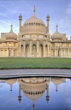 Royal Brighton Palace, Brighton, England, UK! A royal seaside retreat of King George IV, Prince of Wales, built in Indo-Saracenic style.