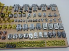 Imperial Fists space marines epic 6mm forumware