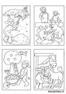 Kleine kleurplaatjes 14 voor jongens, kleuteridee.nl , deze kleurplaatjes maken kleuters echt af ;), free printable.