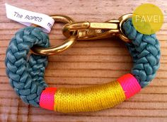 The Ropes collection by Shana Aldrich // made from re-purposed marine rope and hardware!