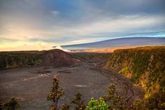 Kilauea Iki Crater, Volcanoes National Park, Hawaii