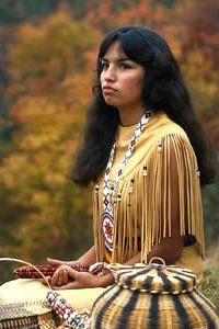 American, Cherokee Indian.