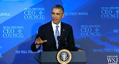 Barack Obama at WSJ CEO Council: Full Interview (VIDEO)