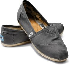 Just bought my first pair :) TOMS Shoes Classic Ash Canvas Slip-on Shoes Women