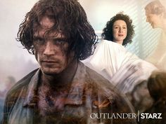 The sacrifice they made to bring Brianna into the world! - Sam Heughan as Jamie Fraser and Caitriona Balfe as Claire Randall Fraser of Starz-Outlander Season 3 Voyager - September 12th, 2017