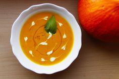 Vegprojekt: Polévka z pečené dýně / Baked pumpkin soup Base Foods, Plant Based Recipes, Thai Red Curry, Vegan Recipes, Ethnic Recipes, Plant Based Meals, Vegan Dinner Recipes