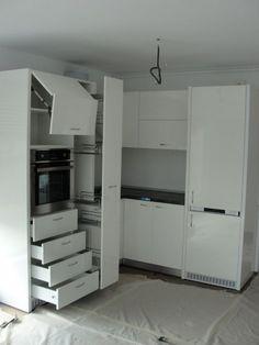 Kitchen Layout, Kitchen Ideas, Storage, Furniture, Home Decor, Dining Room, Houses, Kitchens, Kitchen Dining Rooms