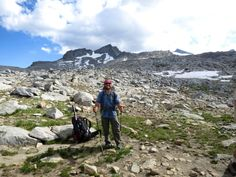 Hike 2600 miles through the United States in six minutes video. PCT