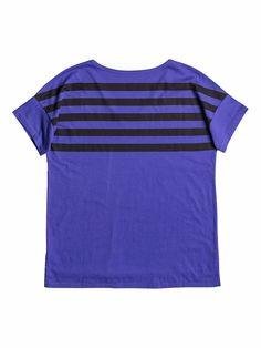 Loose - Roxy Loose Fit T-shirt für Frauen  Loose Loose Fit T-shirt von Roxy. Die Eigenschaften dieses Produkts sind: leichter Stoff, Crew Neck und kurze Ärmel. Dieses Produkt besteht aus: 100% Baumwolle.  Merkmale:  Loose Fit T-shirt, Leichter Stoff, Rundhalsausschnitt, Kurze Ärmel, Druck auf Rücken,  Dieses Produkt besteht aus:  100% Baumwolle,  ...