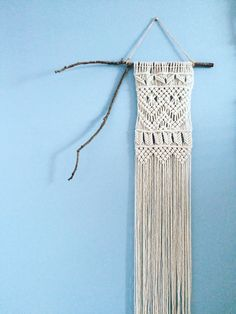 Macrame Wall Hanging by ooverbee on Etsy