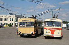 Oberleitungsbus Berlin (1933–1965) – Links BVG Rechts Eberswalder Wagen