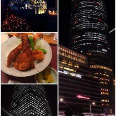 Instagram【zoguye】さんの写真をピンしています。 《Night, yesterday🍤🌃🎄 #nagoya #night #xmas #illumination#big #funny#instagram #food#work #after #nightview #art #名古屋 #お仕事 #終了#夜中に#帰宅 #ハード #楽しすぎ#綺麗#おしゃれさんと繋がりたい #夜景 #クリスマス #イルミネーション#今日 #少し #名古屋を散歩》