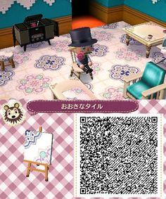 cute wallpapers/pattern ACNL QRs Pinterest