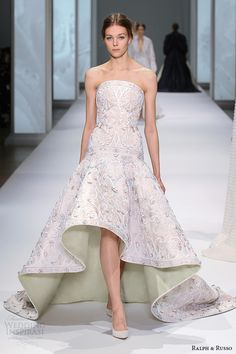 Ralph & Russo Spring 2015 Couture Collection | Wedding Inspirasi