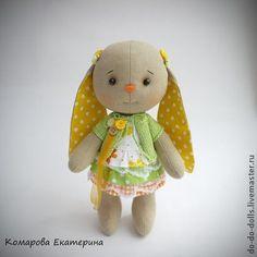 Солнечная зайка - ярко-зелёный,жёлтый,оранжевый,зайка,зайчик,зайцы,зайка тильда