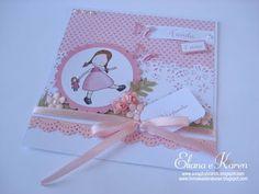 Detalhes que fazem a diferença/ Scrapbybrands: Convites de aniversário: jardim de bonecas